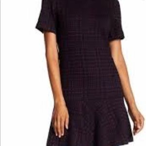 Calvin Klein houndstooth print dress